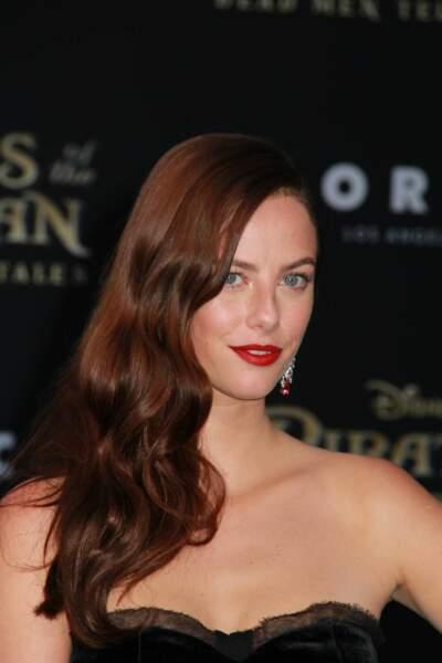 Sublime, la jeune actrice a illuminé le tapis rouge