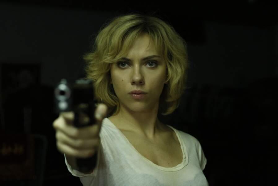 Faut pas la chercher dans Lucy, long métrage SF signé Luc Besson (2014)
