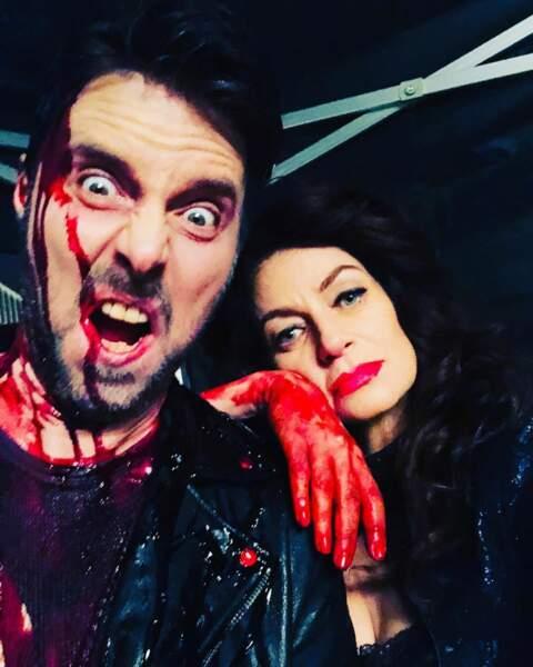 Le tournage des Nouvelles Aventures de Sabrina, c'est forcément… sanglant !