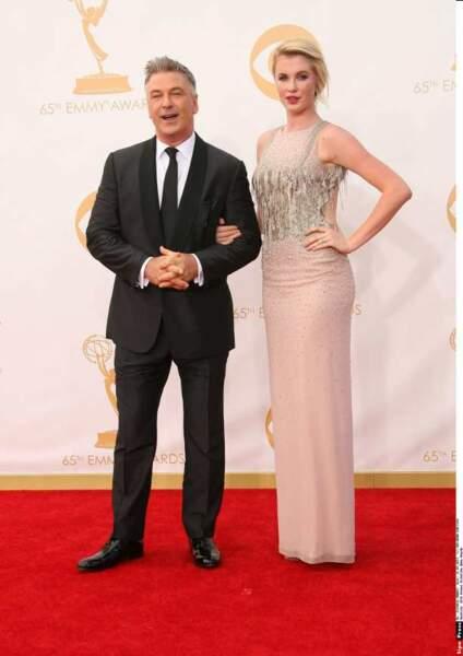 Alec Baldwin avec sa fille Ireland