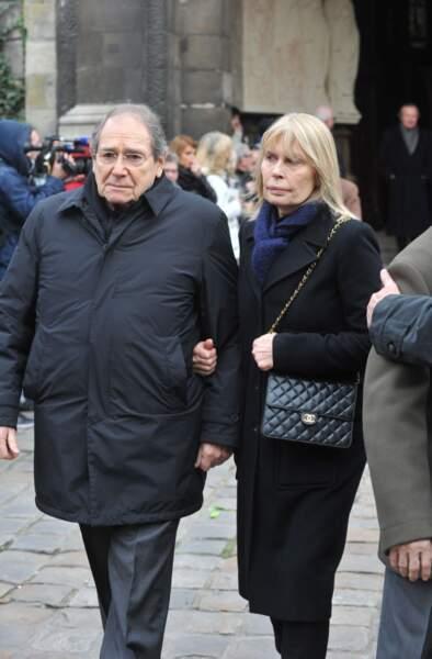 Robert Hossein et Candice Patou.