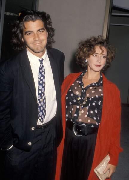 Mariés en 1989, George Clooney et Talia Balsam ont divorcé en 1993.