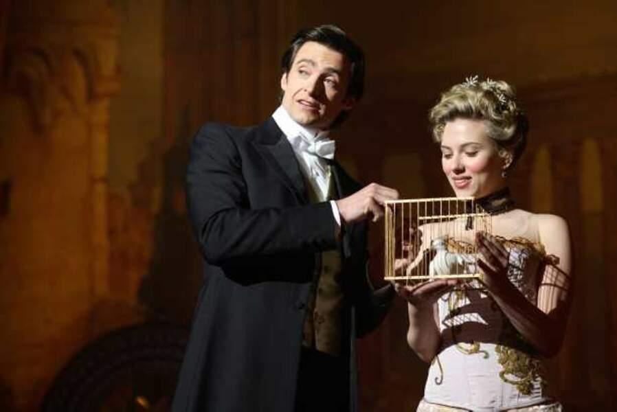 Assistante de magicien dans Le Prestige (2006)