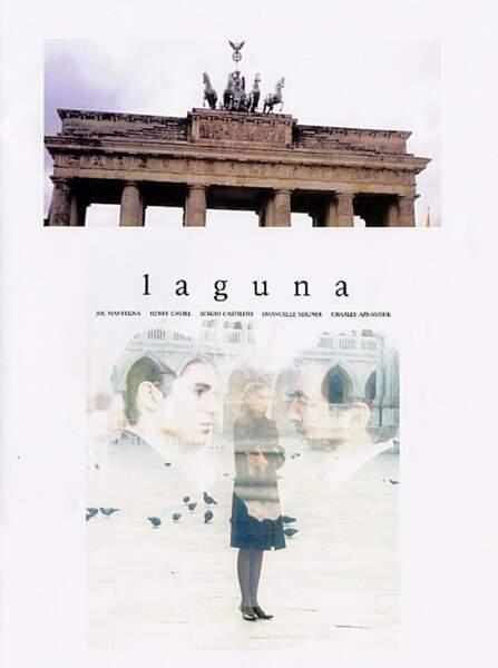 En 2001, il est l'affiche de Laguna. Sa première expérience cinéma