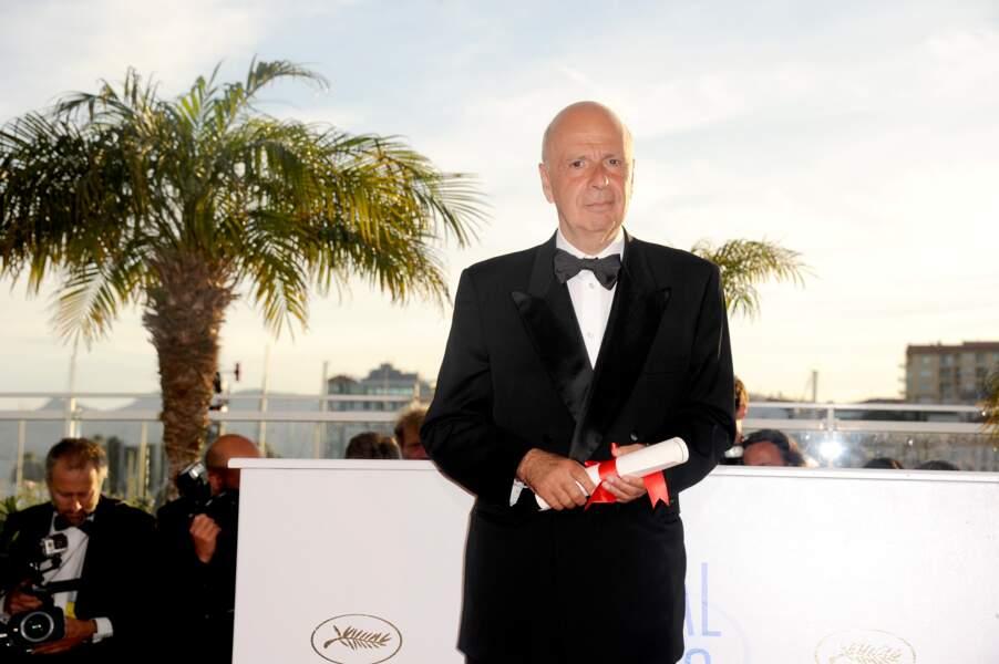 Alain Sarde pour Jean Luc Godard, prix du jury