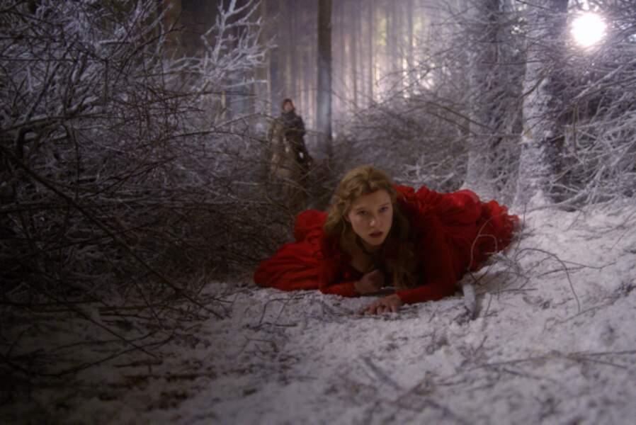 Léa Seydoux perdue dans La Belle et la bête de Christophe Gans (2014)