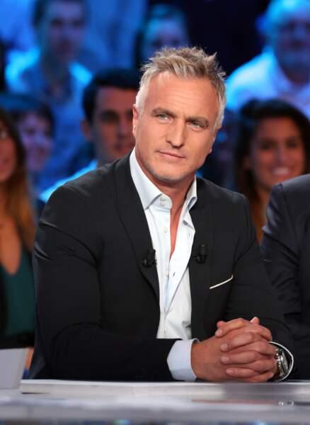 David Ginola, à Sainte-Maxime (Var)
