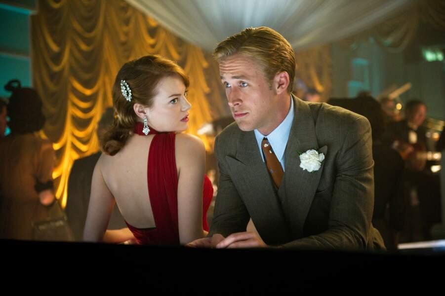 Elle retrouve Ryan Gosling pour le polar rétro Gangster Squad (2013)