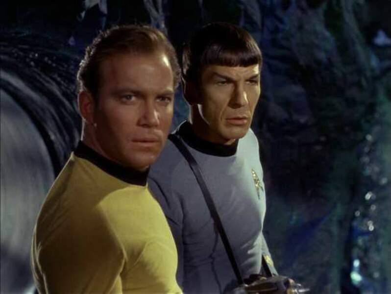Star Trek (série 1966-1969) (Leonard Nimoy et William Shatner)