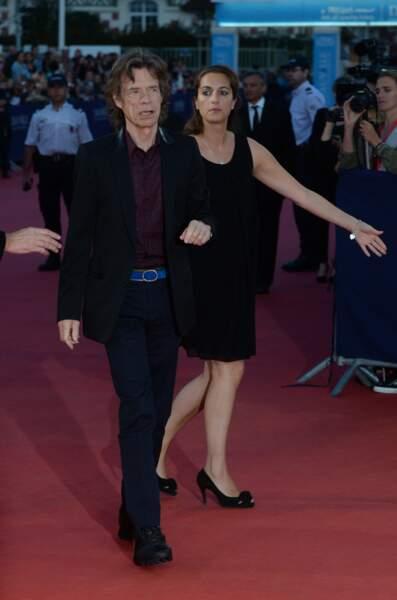 Mick Jagger, coproducteur du film, a fait sensation sur les planches