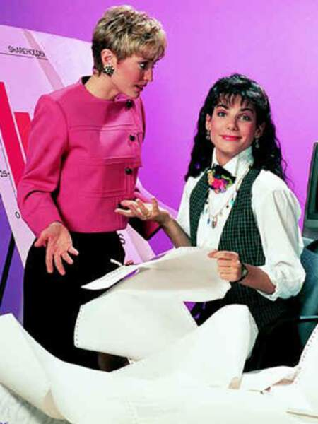 Working Girl (Série TV - 1990) : avec Nana Visitor