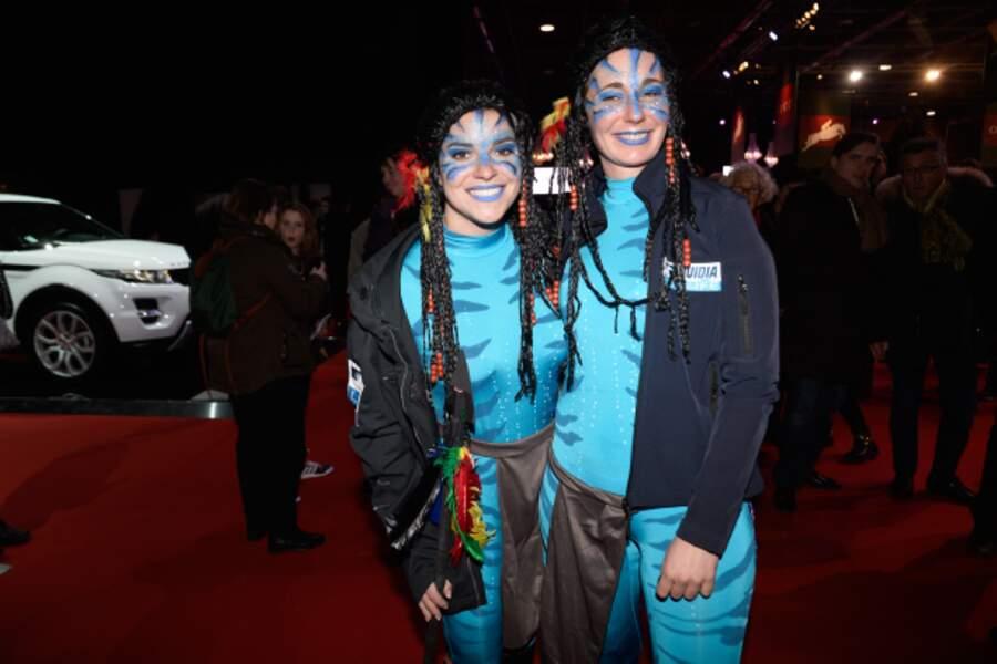 Sophie Tapie et Élodie Laborde en Avatar