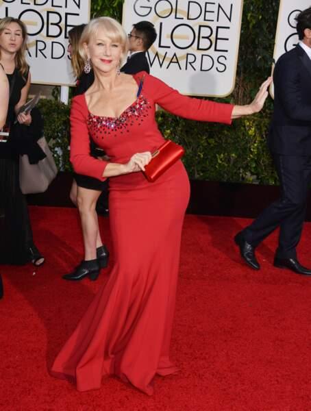 Helen Mirren, reine du red carpet