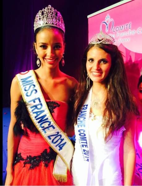 Anne-Mathilde Cali est miss Franche-Comté 2014