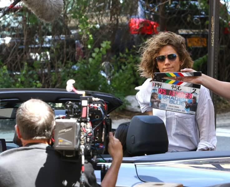 Jennifer Lopez a retrouvé le tournage de sa série Shades of Blue