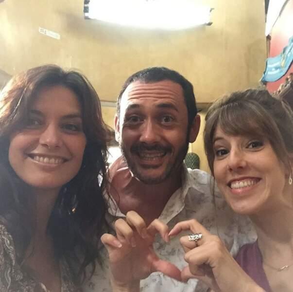 Mélanie, Barbara et Francesco, le nouveau triangle amoureux de Plus belle la vie