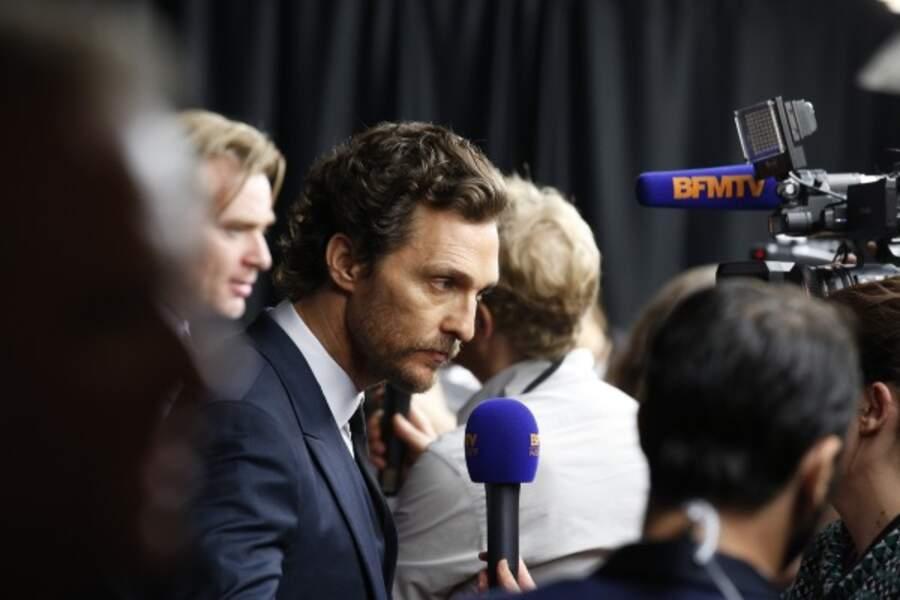 L'acteur a présenté le film au Grand Rex…