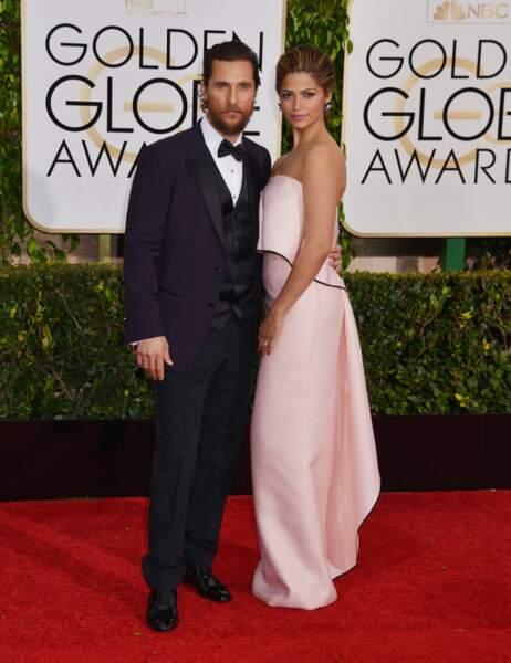Matthew MCConaughey et sa femme Camilla