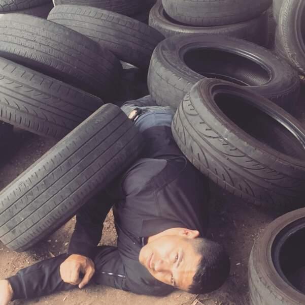 Une chose est sûre, Wilmer Valderrama, la nouvelle recrue de NCIS, n'est pas mou du pneu