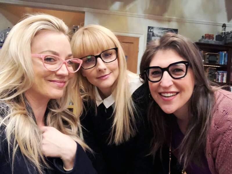 Inséparable, le trio féminin de The Big Bang Theory s'apprête à tourner ses dernières scènes de la série