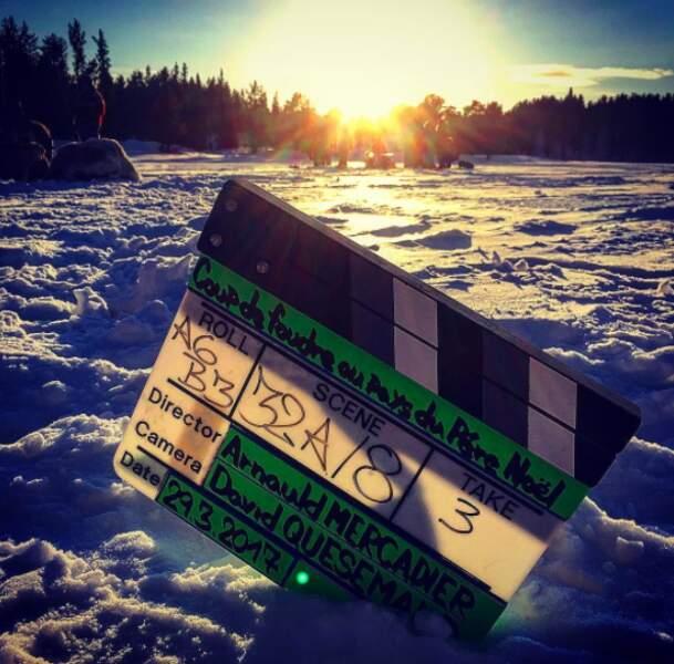Le tournage de Coup de foudre au pays du père Noël pour TF1 a commencé. Direction le pôle Nord pour…