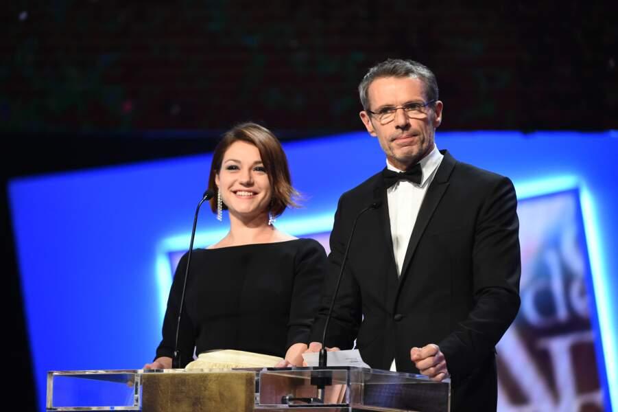 Emilie Dequenne et Lambert Wilson ont remis le César du meilleur film étranger à Mommy