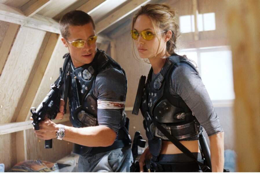 Le jour où tout a basculé : le tournage de Mr. and Mrs. Smith, en 2005, où elle rencontre Brad Pitt.