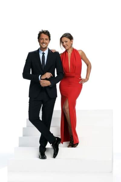 Sandrine Quétier et Vincent Cerutti, les présentateurs de Danse avec les stars