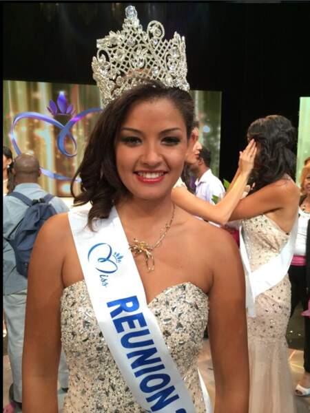 Miss Réunion 2014 : Ingreed Mercredi, 19 ans, de St Paul.