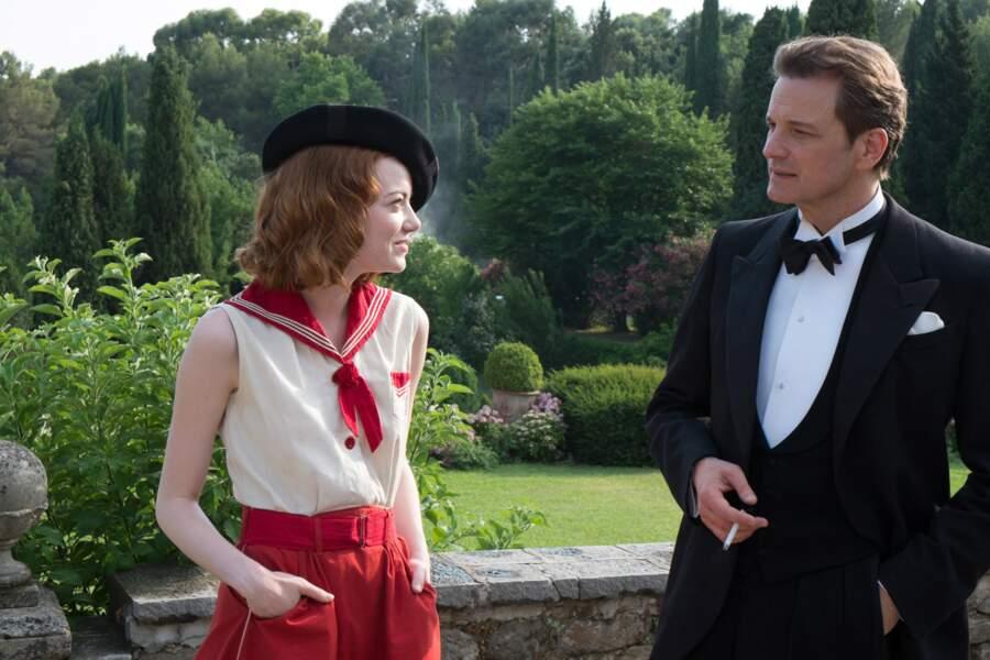 Dans le film, elle tente de duper le magicien Colin Firth