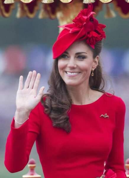Kate a emprunté à la reine Elizabeth son amour des chapeaux
