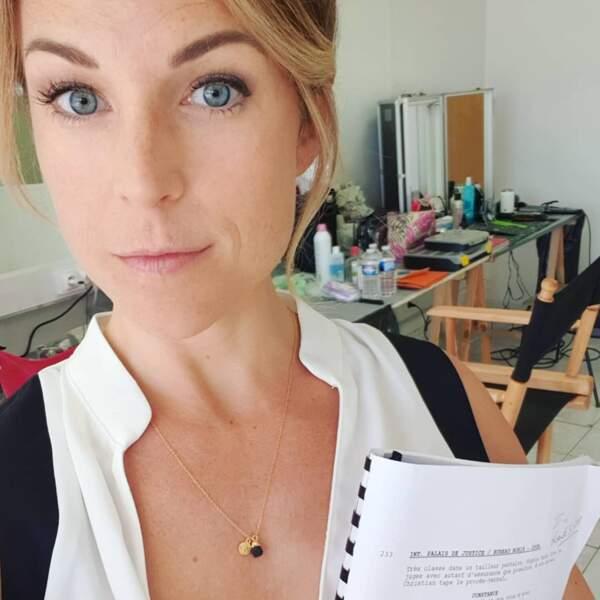 Aurélie Vaneck vient de terminer le tournage de La Stagiaire