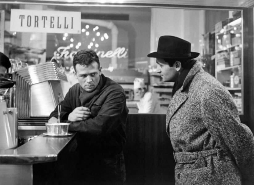 En 1960, Roger Hanin tourne dans Rocco et ses frères, de Visconti