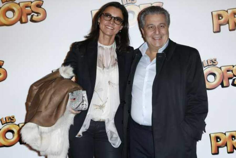 Christian Clavier et Isabelle de Ajauros