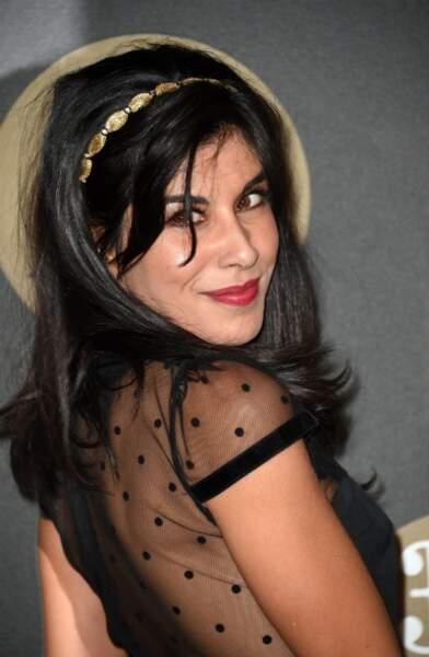 L'actrice Reem Kherici, seule
