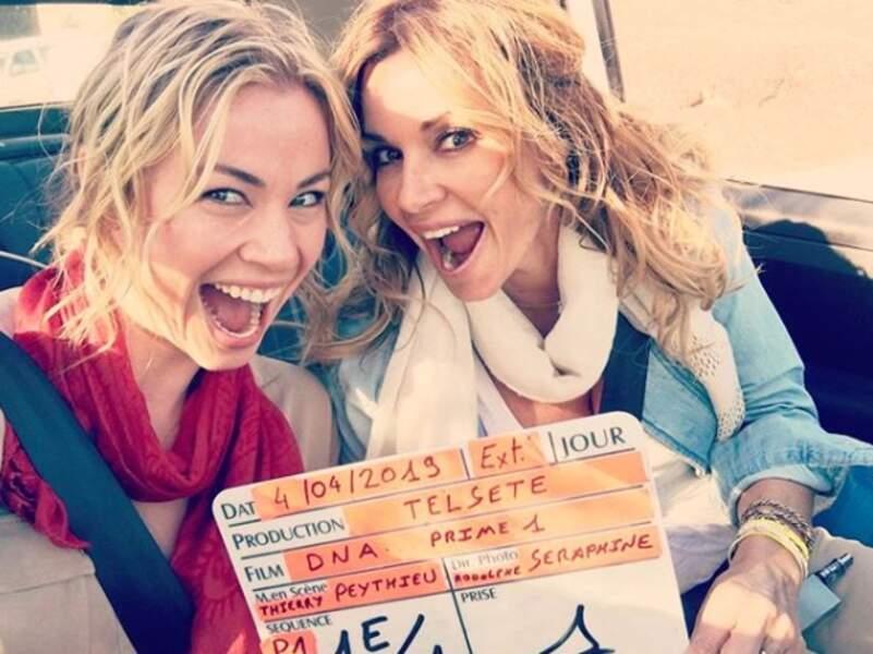 Les soeurs Chloé (Ingrid Chauvin) et Anna (Maud Baecker) sont soudées comme jamais !