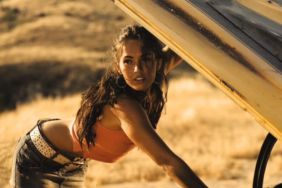 Megan Fox dans Transformers (2007) : chaud devant !