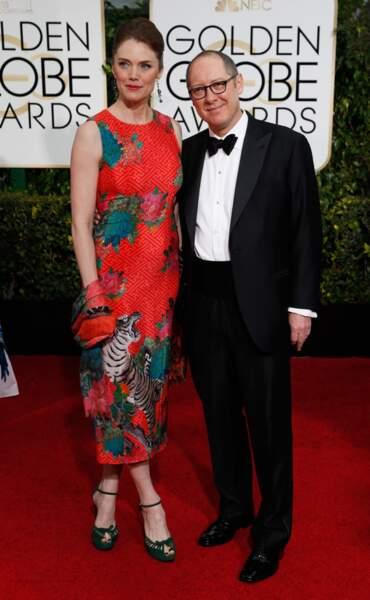 James Spader et Leslie Stefanson. L'acteur n'a pas été blacklisté