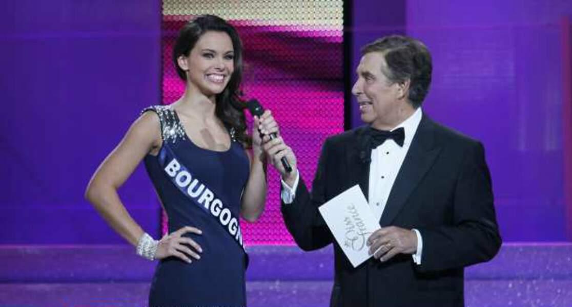 Miss Bourgogne et Jean-Pierre Foucault