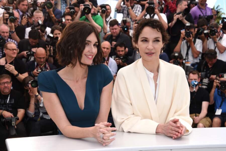 Paz Vega et Jeanne Balibar