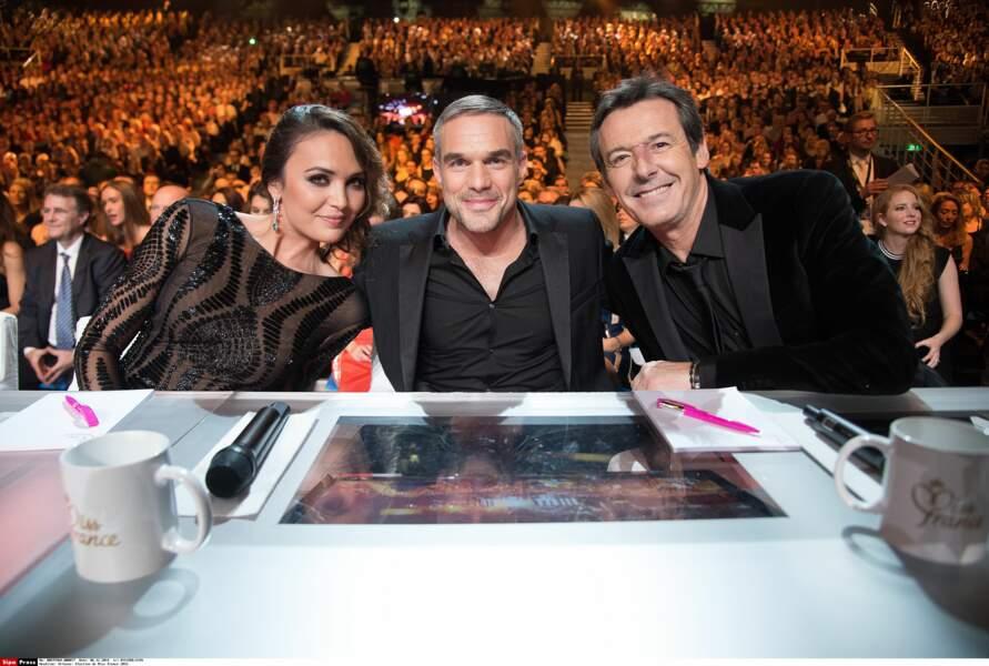Trois membres du jury : Valérie Bègue, Philippe Bas et Jean-Luc Reichmann