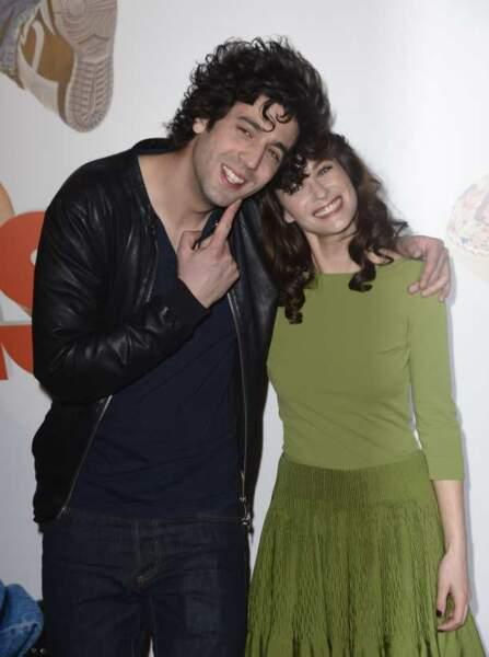 Max Boublil et Mélanie Bernier
