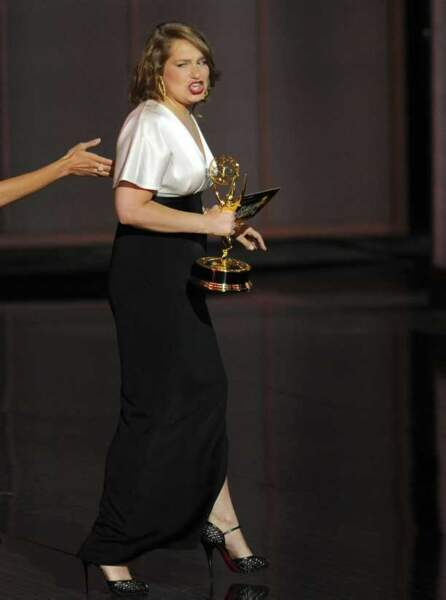 Merritt Wever reçoit le prix de la meilleure actrice dans un rôle secondaire de série comique pour Nurse Jackie