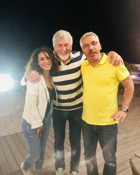 Patrick Préjean est allé rendre visite à Samira Lachhab et Atmen Kélif sur DNA. Bientôt un rôle ?