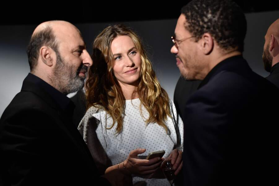 JoeyStarr dans les coulisses avec Cécile de France et Cédric Klapish