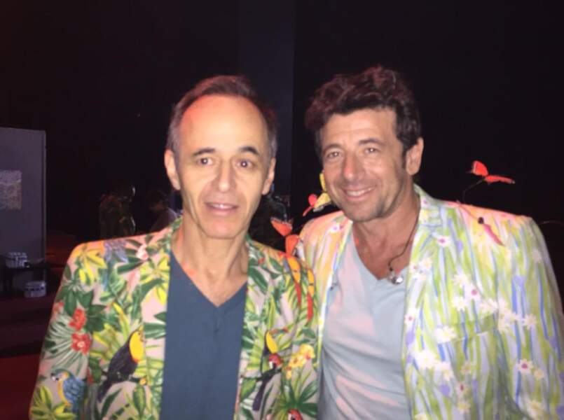 Les vestes de Jean-Jacques Goldman et Patrick Bruel, pires que la chemise de Grégoire