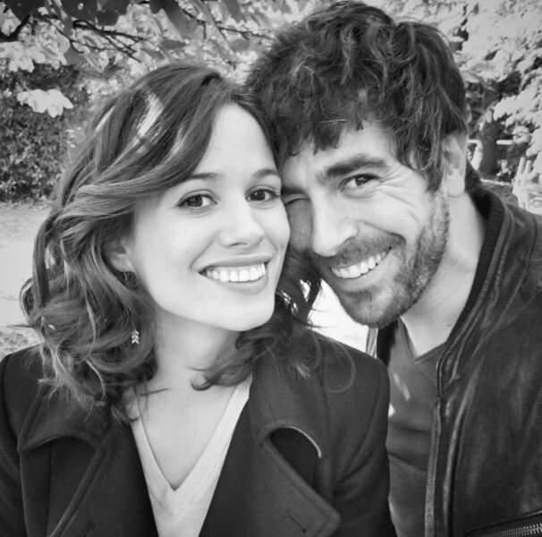 Lucie Lucas et Agustin Galiana, soeur et frère de Clem