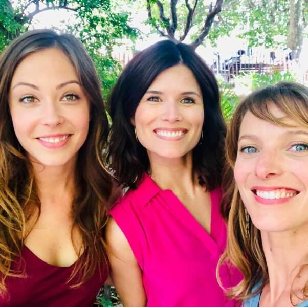 Dounia Coesens, Flavie Péan et Estelle Varlet : les retrouvailles des copines de Plus belle la vie
