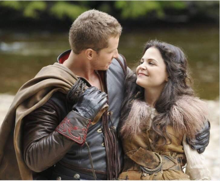Blanche neige et le prince sont bien sûr toujours aussi amoureux dans Once Upon a Time