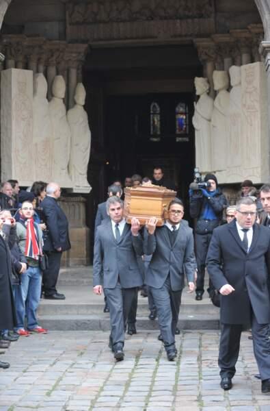 Les obsèque de Jacques Chancel avaient lieu en l'église Saint-Germain-des-Prés à Paris.
